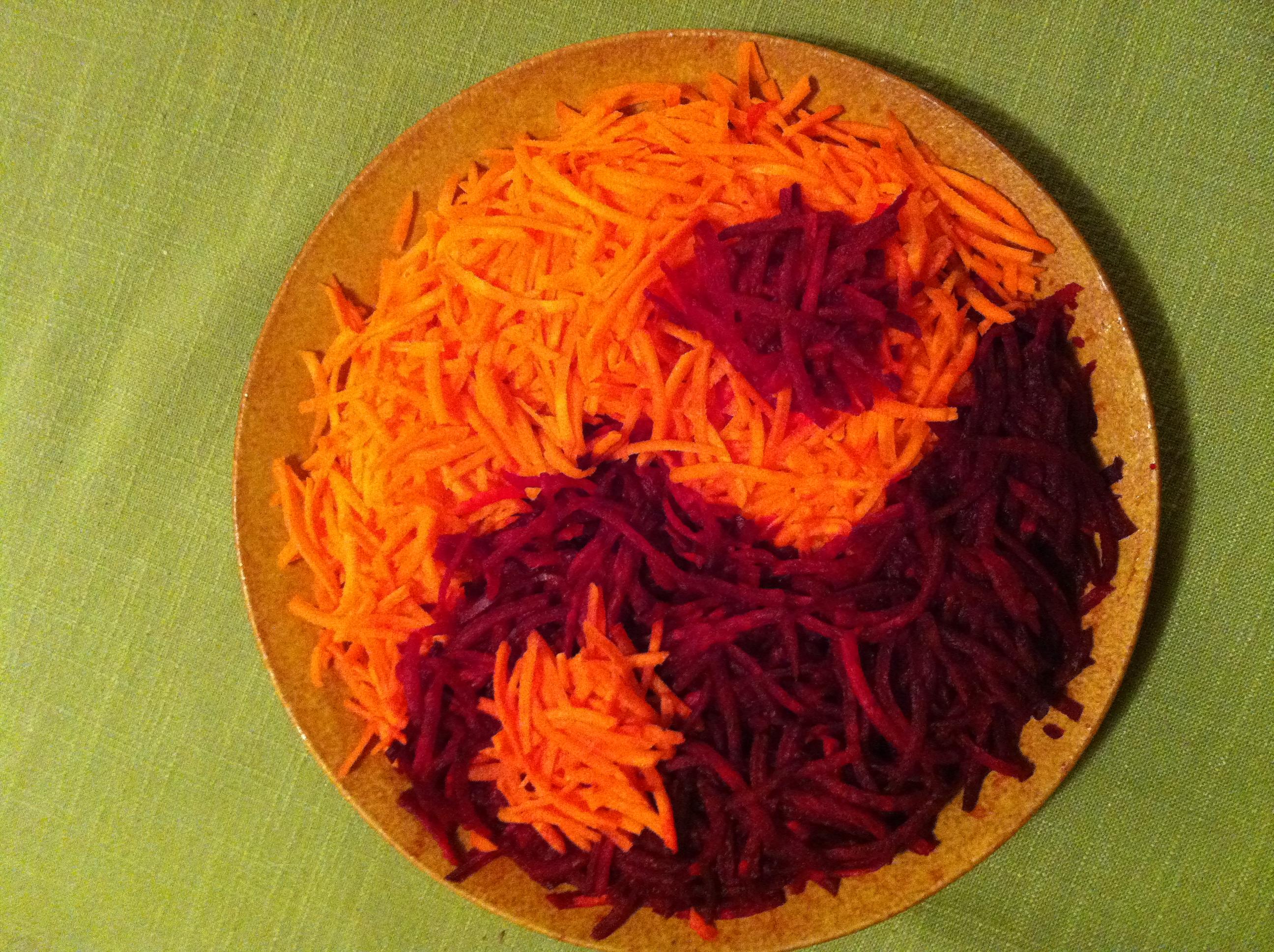 yin yang salad