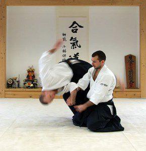aikido - Shihonage